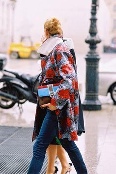In the Rain | Vanessa Jackman | Paris Fashion Week AW 2014