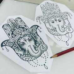 Simple Tattoo Stick And Poke - - - Lotus Flower Tattoo - Tattoo Hand Geometric - Hamsa Hand Tattoo, Ganesh Tattoo, Hand Tattoos, Hamsa Tattoo Design, Cute Tattoos, Body Art Tattoos, Small Hamsa Tattoo, Yantra Tattoo, Tattoo Ideas