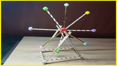 "--- How To Make Mini London Eye From Cardboard Straw Easy Crafts-- In this episode i just try to make mini ""London Eye"" the biggest wheel from Europe . Space Activities, Christmas Eve Box, London Bridge, London Eye, Easy Diy Crafts, Homework, Make It Yourself, Mini, How To Make"