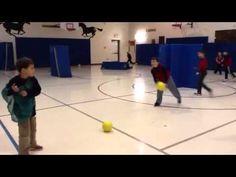Gladiator- Elementary PE game