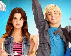 Laura Maruno and Ross Lynch from Austin and Ally. Ross is in the band R5 and Laura has guest starred in True Jackson V.P.