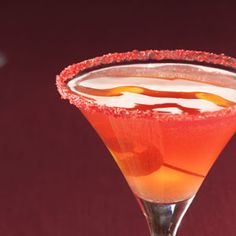 Pomegranate Cosmo--beautiful!