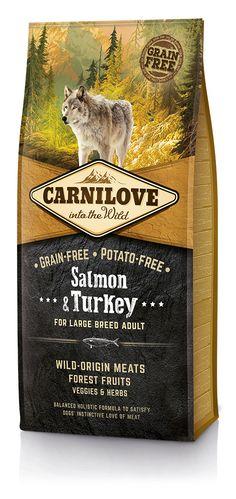 CARNILOVE au saumon pour grand chien 12Kg
