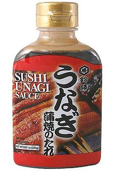 How to make Unagi (eel) sauce at home. For sushi! this site has recipes for all kinds of sushi! LOVE IT!