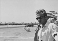 James Dean at the races