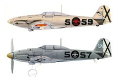 Spanish Immediately after and during Spanish Civil War Ww2 Aircraft, Fighter Aircraft, Military Aircraft, Fighter Jets, Spanish Air Force, Spanish War, Luftwaffe, Old Planes, Camouflage