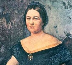 The altered version- A purported portrait of Mary Todd Lincoln by Francis Bicknell Carpenter that hung in the governor's mansion in Springfield, Illinois for three decades, turned out to be an altered imposter.