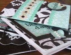 Choc Mint Card Kit Card Making Kits, Unique Cards, Card Kit, Mint, Peppermint