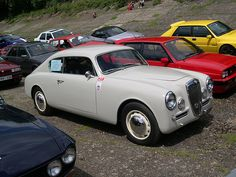 1955 Lancia Aurelia B20 GT Coupe - Mr. S. says perfect design.