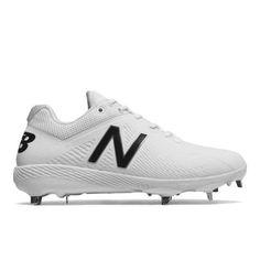 half off 5242f 3d86a 4040v4 Elements Pack Men s Low-Cut Cleats Shoes - White (L4040SW4) Metal  Baseball