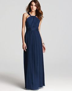 Amsale Dress - High Neck | Bloomingdales