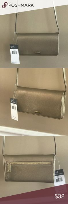 NWT Chaps cross body  with 3 separate compartments NWT Chaps cross body bag has 3 separate compartments with cards  and license slots great bag and it's sharp looking Chaps Bags Crossbody Bags