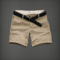 Abercrombie & Fitch Boulder Brook Shorts ($20) ❤ liked on Polyvore featuring mens, men's clothing, men's shorts, shorts, bottoms and pants