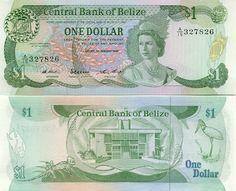 Belize One Dollar