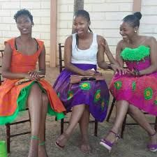 Image result for tsonga traditional dresses Tsonga Traditional Dresses, Traditional Wedding Dresses, Traditional Weddings, African Wear, African Dress, African Fashion, African Children, African Women, Traditional African Clothing