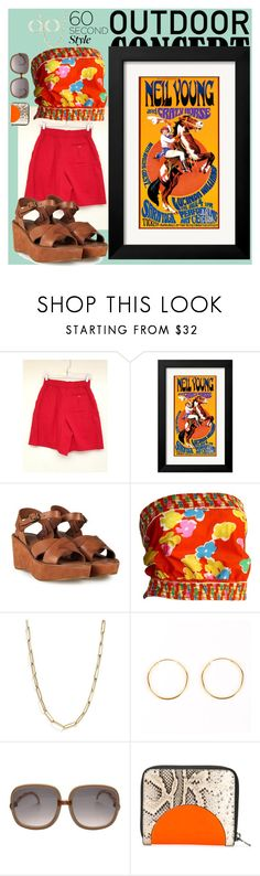 """""""Untitled #1985"""" by moestesoh ❤ liked on Polyvore featuring Kork-Ease, Oscar de la Renta, Bloomingdale's, Kenzo, 60secondstyle and outdoorconcerts"""