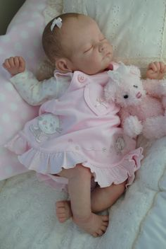 Annabelle reborn from an'Andi' sculpt by Linda Murray now living in Australia