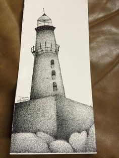 """My mother does free-hand pointillism. She couldn't wait to show me her new """"lighthouse"""" piece. I can't stop laughing. Dat ass though!!!! #Followme #CooliPhone6Case on #Twitter #Facebook #Google #Instagram #LinkedIn #Blogger #Tumblr #Youtube"""