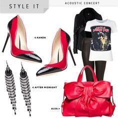Black, red & shiny!