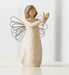 Willow Tree angel of hope....AN ANGEL in the house they say WILL GUARD YOUR FAMILY Night & Day.