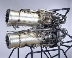 Hotness curated by www.twelvecreate.com De Havilland Double Spectre rocket engine, c 1959.