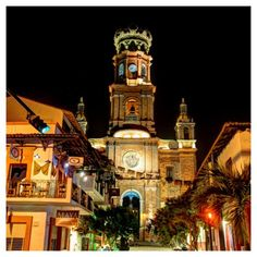 Our Lady of Guadalupe Parish, Downtown Puerto Vallarta www.puertovallarta.net #vallarta #puertovallarta #mexico #jalisco #travel