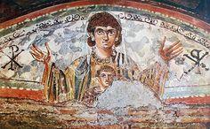 Epitafium Marka Klodiusza Hermesa w katakumbach św. Sebastiana