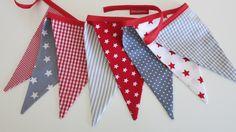 Girlanden & Wimpelketten - ♥ Wimpelkette ❤︎ - ein Designerstück von Hokuspokuss bei DaWanda