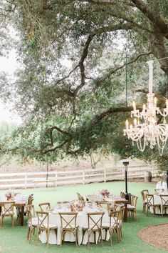 Dreamy Saddlerock Ranch wedding reception: http://www.stylemepretty.com/2015/11/27/al-fresco-saddlerock-ranch-wedding/ | Photography: Koman Photography - http://komanphotography.com/