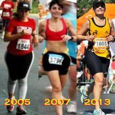 A mudança no corpo foi uma consequência – o que eu gostei mesmo foi da mudança de atitude… Minha vida começou a se transformar há oito anos. Para ser mais exata, no dia 21 de agosto de 2005. Post para comemorar meus oito anos na corrida.