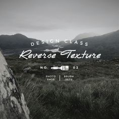 """Design Tutorial : Creating transparent / """"knock-out"""" textures in five easy steps"""