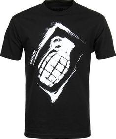 Grenade Sullen Stencil T-Shirt - black - Men's Clothing > Shirts > T-Shirts > Short Sleeve T-Shirts