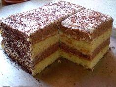 O variantă de prăjitură foarte simplă,fără prea multă bătaie de cap,cu ingrediente la îndemană,pe care le aveți tot timpul în camara și în frigider de cele mai multe ori.        Ingridiente:Blatul alb:     2 ouă   1 pahar smîntană