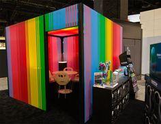 Artist Megan Geckler's Bold Bobble Installation #office #cubicle #designs