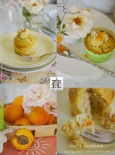 """LISA LIBELLE - Annalisa Colaianni Evangelisti: """"hello sunshine"""": Aprikosen-Haselnuss Cupcakes mit..."""