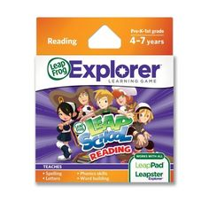LeapFrog LeapSchool Reading Learning Game (works with LeapPad Tablets, LeapsterGS, and Leapster Explorer), http://www.amazon.com/dp/B004MWP390/ref=cm_sw_r_pi_awdl_rp0Ksb0A16743