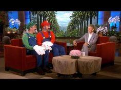 Mario and Luigi's Big Announcement [Ellen] #gaymers #gay #lol #geek