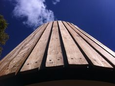 Sky High | We love our use of sustainable materials at ArchiBlox. Vertical board and batten cladding using Australian native hardwood. #TimberCladding #Prefab