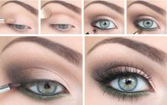 light smoky eye makeup great for fair hAIRED PREFORMERS