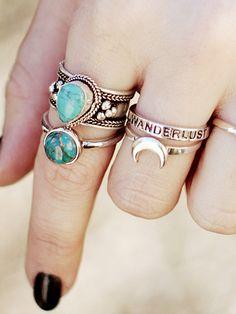 wanderlust ring //