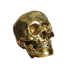 Bliss Home & Design My Grandfather skull, $264; blisshomeanddesign.com