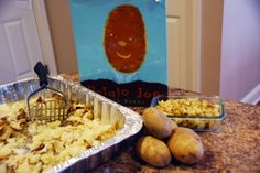 November Baby Toddler Book Club Meeting activity and snack based on Potato Joe by Keith Baker