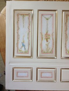 Painted panels work in progress by Maritza Miniatures (Please do not remove credit)
