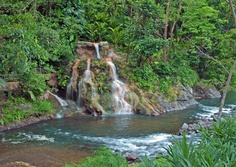 Enjoy one of the many thermal pools at The Springs Resort & Spa in Costa Rica