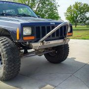 Xj Modular Stubby Stinger Bumper With Mini Wings Bumpers