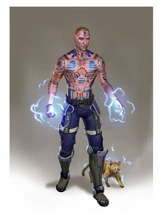Mass Effect / Dragon Age - Adept Anders (by AndrewRyanArt)