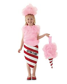 cotton candy girls costume
