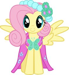 flutershy in her outifit