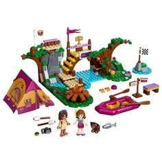 LEGO Friends 41121: Adventure Camp Rafting Mixed: LEGO: Amazon.co.uk: Toys & Games