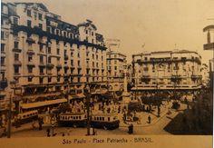 1935 - Praça do Patriarca - Ed. Niels Bruxelas - DCP